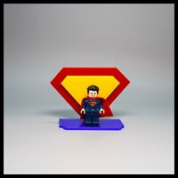 Acrylic display stand for LEGO Superman Minifigure