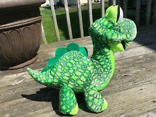 "Classic Toy Co Brontosaurus Dino Dinosaur Plush Stuffed Animal 16"" x 16"""