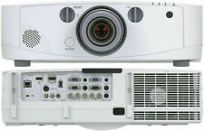 Nec Np-Pa550W 1080P 60Hz Hdmi Projector 5500 Lumens - Bright! 520 Lamp Hours!