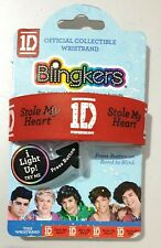 I ❤ 1D - ONE DIRECTION Official Collectible BLINGKERS WRISTBAND - Lights Up! [c]