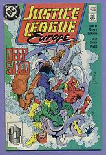 Justice League Europe #2 1989 J.M. DeMatteis Bart Sears DC k