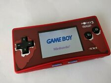 Nintendo Gameboy Micro Mother 3 limited edition console OXY-001 GBM tested-b0313