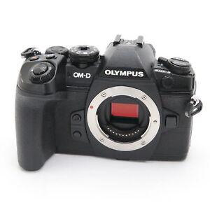 OLYMPUS OM-D E-M1 Mark II Body Black shutter count 4803 shots