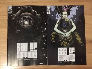 SET: 💀 SEA OF SORROWS #2 (OF 5, 2020) TWO COVERS MAIN + 1:10 IDW PUBLISHING