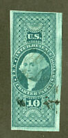 US Stamps # R93a Revenue Fresh Large Margins Rare Scott Value $1,900.00