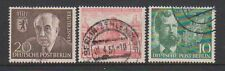 Germany (Berlin) - 1954, 3 x different Issues - G/U - SG B112/14