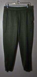 Women's OAKLEY Green Drawstring Waist Jogger Sweatpants Size L