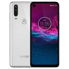 New Motorola One Action Dual-SIM XT2013 128GB White Factory Unlocked 4G/LTE GSM
