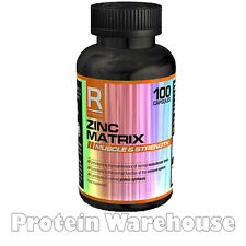 Reflex Nutrition Zinc Matrix 100 Capsules Dietary Supplement Fast Free Delivery
