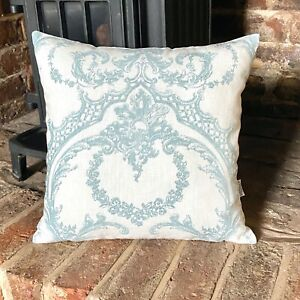 902. Lilou in Duck Egg Blue 100% Linen Cushion Cover Various sizes