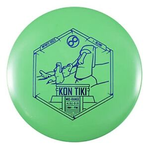 Infinite Discs Kon Tiki Easy to Throw Mid-Range Approach Disc in I-Blend Plastic