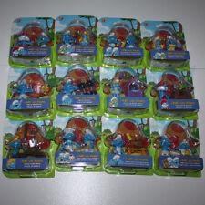 PUFFO PUFFI SMURF SMURFS Jakks Pacific 11673 e 11674 Serie 12 pezzi in Blister