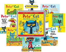 Pete the Cat Storybook Collection 7 Stories1 Book by James Dean (2016,Hardcover)