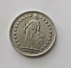 Swiss 1 Franc coin 1945