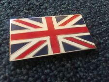 Union Jack FLAG  Enamel badge  Self Adhesive Lambretta Scooter Etc