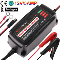 TOPAC 12 Volt 1.25A Automatic Car Battery Charger and Maintainer for Automotive Power Tool Toys RV Lawn /& Garden Battery Systems Boat /& Marine Motorcycle