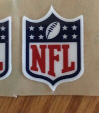 NATIONAL FOOTBALL LEAGUE NFL SHIELD AUTHENTIC REAR Helmet Decal RARE AFC NFC