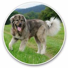 2 x Vinyl Stickers 30cm - Caucasian Shepherd Sheepdog Cool Gift #3180