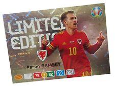 PANINI ADRENALYN XL EURO 2020 LIMITED EDITION AARON RAMSEY