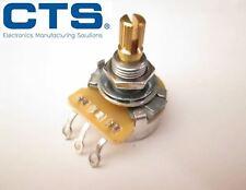 "CTS 250K Split Shaft Linear Potentiometer / Pot Short 3/8"" shaft B250k"