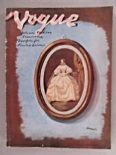 Vogue Magazine - October 1, 1938