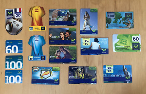 (LOT) 16 cards Movistar prepaid Venezuela