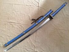Collectable Japanese Samurai Sword Katana Sharp Folded Blade Cloisonne Sheath
