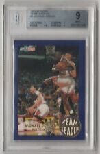 1992 Fleer Team Leader #4 Michael Jordan BGS 9 MINT.