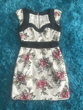 French Connection Cotton Patterned Dress Size 6!
