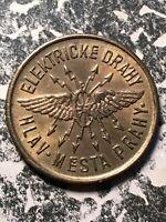 Undated Prague Czechoslovakia 20 Haleru Elektricke Drahy Token (1 Coin Only)