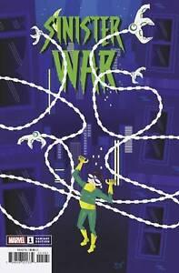Sinister War #1 (OF 4) Variant by Jeffrey Veregge