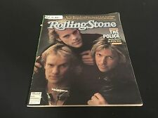 Rolling Stone Magazine The Police Sting February 1981 Issue 337