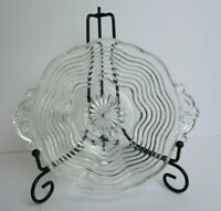 "Vintage Clear Glass Candy Dish - Bowl with Scalloped Edge - 5.5"" W x 2"" H"