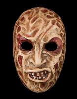Maschera Freddy-Halloween-Horror-Carta Cartapesta Veneziano -1901-V0