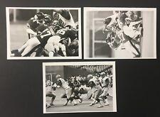 1983 Montreal Concordes Vs Hamilton Tiger-Cats CFL Denis Brodeur 3 Press Photos