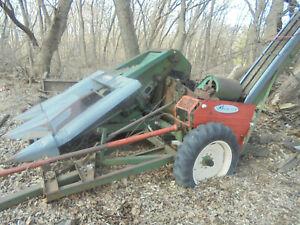 Vintage New Idea 324 2 row Corn picker