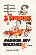 "The three Stooges Pardon My Backfire Movie Poster Replica 13x19"" Photo Print"