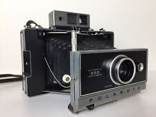 Polaroid Automatic 250 Land Camera 114mm f/8.8 Strap and Cover Vintage 1960's