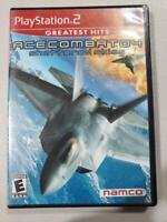 Namco Ace Combat 4 Shattered Skies  Complete PS2 PlayStation 2
