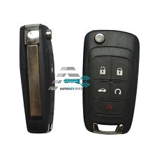 2 New Uncut Flip Key Remote Start Keyless Entry Transmitter Fob For OHT01060512