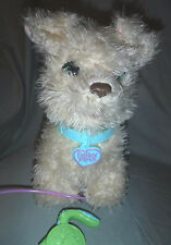 "FurReal Friends Dog Biscuit My Walkin' Pup 13"" Plush Soft Toy Stuffed Animal"