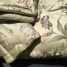 "Iris Queen Comforter 2 Pillow Shams Croscill Home 93"" x 90"""