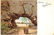 KUHSTALL SWITZERLAND GRUSS VOM GREETINGS FROW UDB POSTCARD c1900s