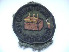 original vietnam american war  strategic technical directorate cloth patch