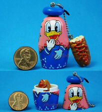 Disney Russian Doll Russische Puppen Babuschka Matroschka Donald Duck Hotdog N43