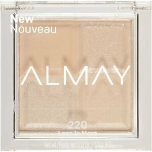 ALMAY SQUAD EYE SHADOW. ONE SHADE - FOUR FINISHES. #220 LESS IS MORE