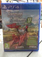 Farming Simulator 17 Platinum Edition Ita PS4 NUOVO