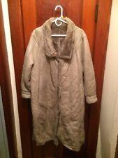 Vintage Real Sheepskin Winter Coat Grey