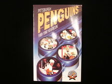 1989-90 Pittsburgh Penguins Hockey Media Guide
