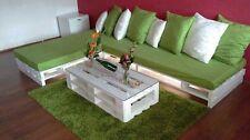 NUOVO Pallet bancale bianco shabby 120X80 EPAL HT arredamento design divani